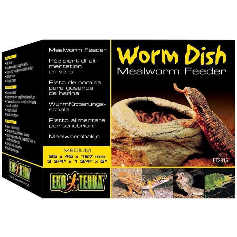 Exo Terra Worm Dish 9,5x4,5x12,7cm