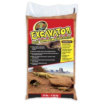 Zoo Med Excavtor Clay hos Tropehagen