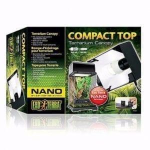 Exo Terra Compact Top er et kompakt armatur designet for bruk sammen med Exo Terra glassterrarium.
