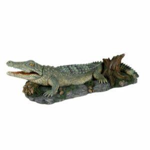 Dekor krokodille med luftpumpetilkobling 26cm