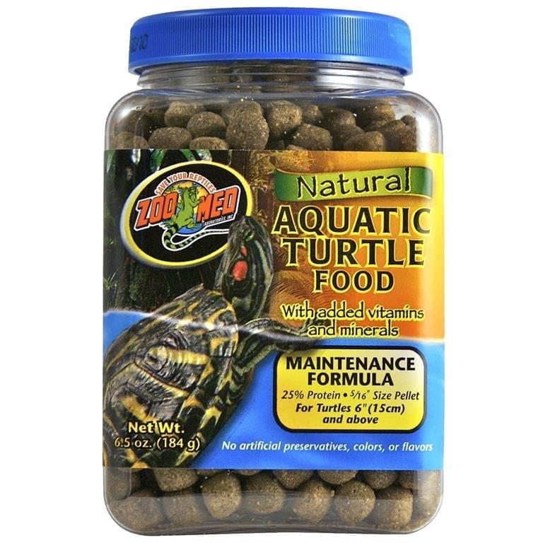 ZOO MED NATURAL AQUATIC TURTLE FOOD MAINTENANCE