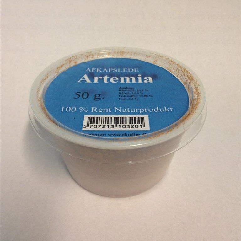 Artemia frysetørket uten skall 50g