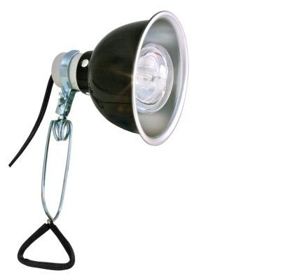ZOO MED DELUXE PORCELAIN CLAMP LAMP 14CM MAX 100W