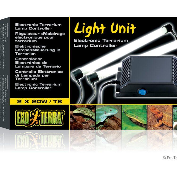 Light cycle unit lysrørsholder